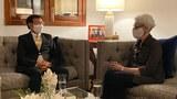 CNRP President Kem Sokha (L) meets with US Deputy Secretary of State Wendy Sherman in Phnom Penh, June 1, 2021.