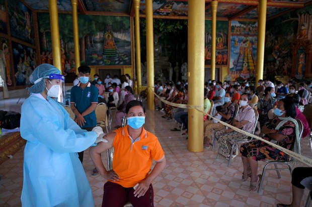 Elderly Activist Inmates Increasingly Positive For COVID-19 in Cambodia's Penal System