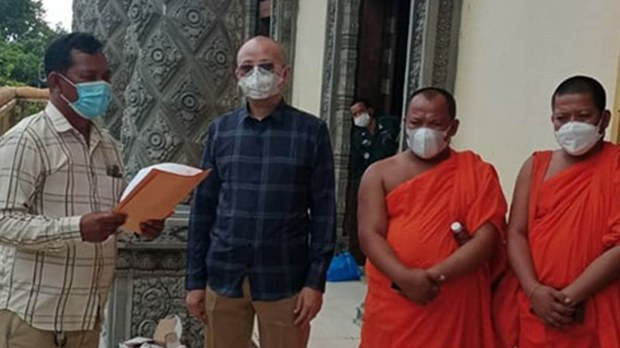 Defrocked Khmer Krom Monk Jailed in Cambodia for 'Obstructing' COVID-19 Measures