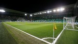 Stade Geoffroy-Guichard, the home ground of the French soccer club Saint-Etienne, in a Feb. 17, 2019 file photo.