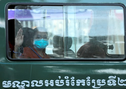 Ten Cambodian activists get 20-month sentences for peaceful protest