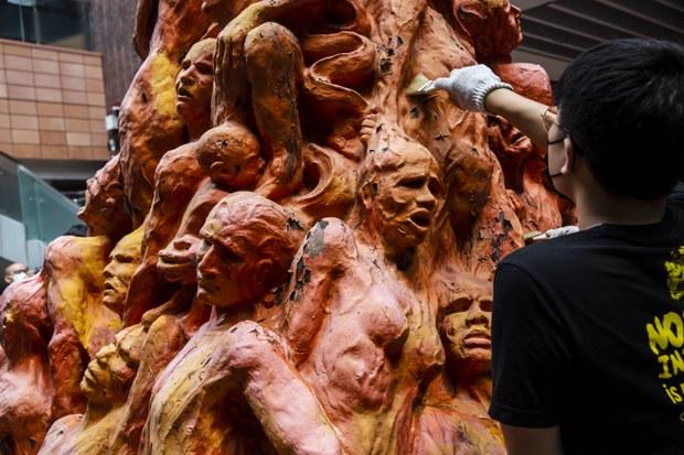 Danish Artist Tries to Reclaim Tiananmen Tribute From Hong Kong University