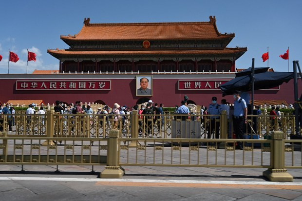 Police in Beijing to Clear Tiananmen Square For Centenary Run-Through