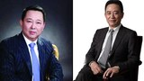 Billionaire Liu Canglong (R), who was detained for illegally embezzling trust assets, and his cousin Liu Han (L), who was linked to the 2013 bribery and abuse of power case of jailed former head of Chinese law enforcement, Zhou Yongkang.