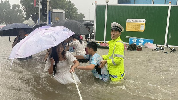Henan Residents Hit Out at Lack of Warning of Zhengzhou Flood Horror
