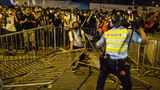 Clashes after a rally against a controversial extradition law proposal in Hong Kong, the largest street protest in at least 15 years, June 9, 2019.