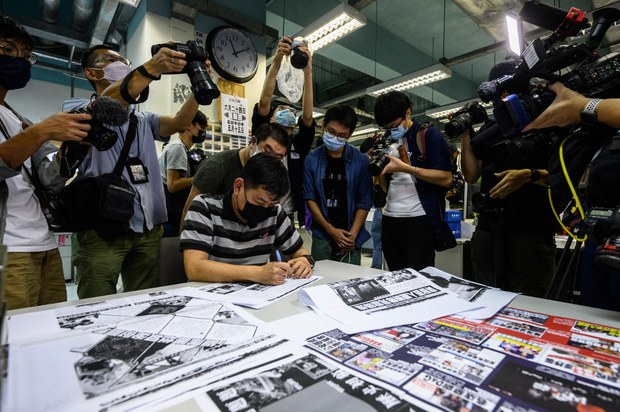 Three Hong Kong Journalists Behind Bars For 'Colluding With Foreign Powers'