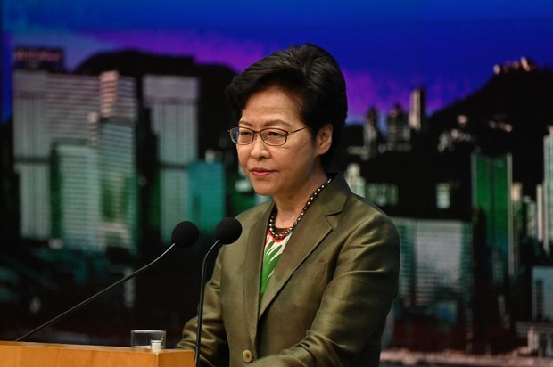 China to Discuss Imposing Foreign Sanctions Law on Hong Kong