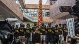 Hong Kong jails 5 students as row over Tiananmen sculpture intensifies