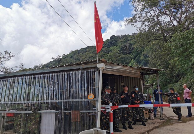China Begins Landmine Removal Operation Along Border With Myanmar