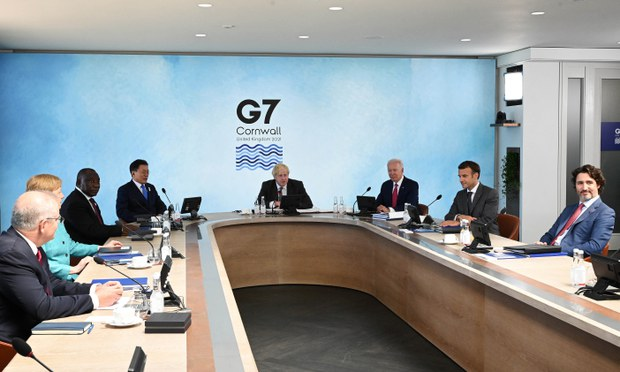 Democratic Taiwan Welcomes G7 Name-Check as China Hits Out at Communique
