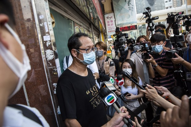 Mainland Chinese Dissidents Hit Out at Police Raid on Hong Kong Alliance