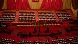 The closing session of China's  National People's Congress at the Great Hall of the People in Beijing, March 11, 2021.