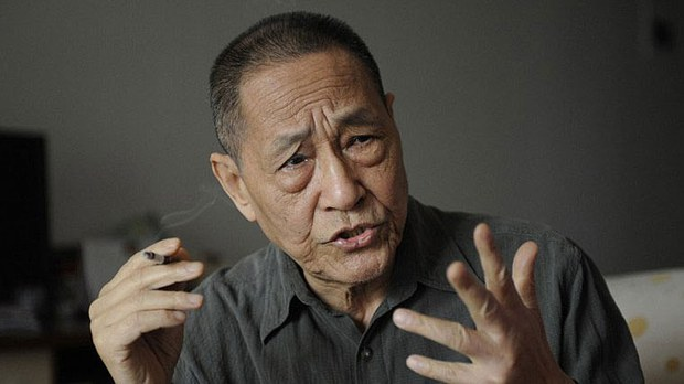 Former top Chinese Communist Party official Bao Tong is shown in a file photo.