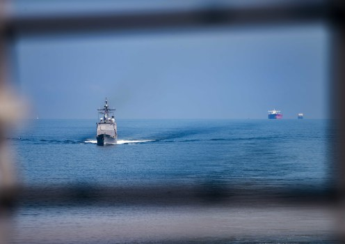 After sub accident, China demands US end free navigation ops