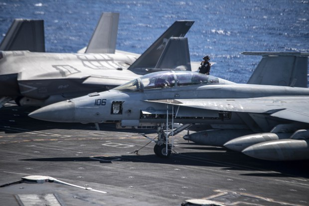 US Aircraft Carrier Commander Asserts Freedom to Navigate the South China Sea
