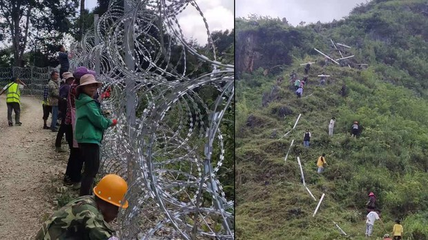 Vietnamese Border Region Residents Remove China's Electrified Fencing