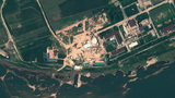 A satellite image shows the Yongbyon Nuclear Scientific Research Center in North Korea in a file photo.