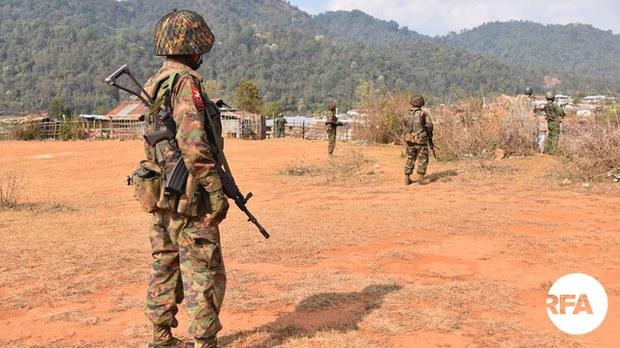 Convoy Ambush Kills at Least 30 Junta Soldiers in Myanmar's Sagaing Region