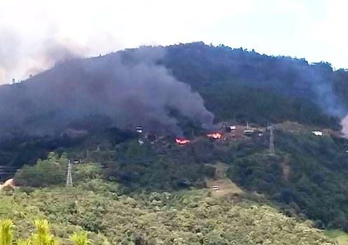 Junta troops torch church, homes in Myanmar's Chin State