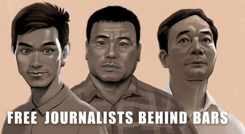 Free Journalists Behind Bars