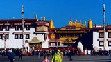 The Jokhang temple in Tibet's regional capital Lhasa is shown in an undated photo.