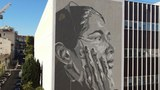 Mural of former Uyghur detainee spreads news of Chinese abuses in Xinjiang
