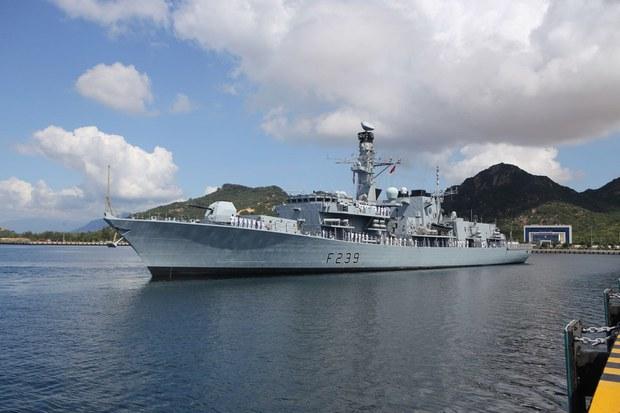 British Frigate in Swing Through Indo-Pacific Stops in Vietnam