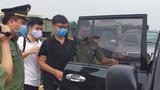 Vietnamese dissident blogger Bui Van Thuan is shown under arrest, Aug. 30,  2021.