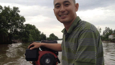 Vietnamese Facebook user Chung Hoang Chuong is shown in an undated photo.