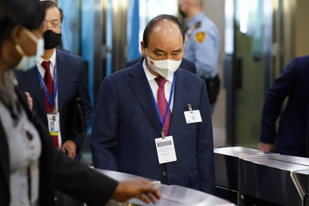 Vietnam's President Lobbies at UN Session for COVID-19 Vaccine Help